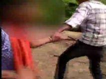 नाबालिग युवती के साथ छेड़खानी , वीडियो सोशल मीडिया पर तेजी से वायरल