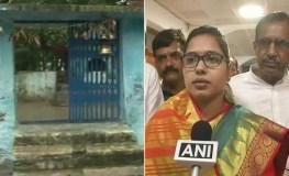 भाजपा विधायक के प्रवेश के बाद मंदिर को गंगाजल से धुलवाया, जाने पूरा मामला
