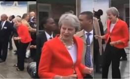 पीएम ने लगाए 'ठुमके', वीडियो हुआ वायरल