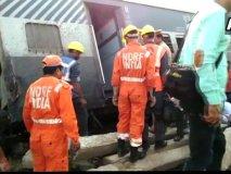 न्यू फरक्का एक्सप्रेस रेल हादसे में 7 की मौत, 5 ट्रेनें रद्द, 9 का बदला गया रूट