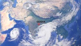 ओडिशा : दोपहर तक पहुंच सकता है चक्रवाती तूफान 'तितली', हाई अलर्ट जारी