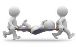 हादसा: 210 फिट से नीचे गिरा मजदूर, इंजीनियर भी मलबे में दबा