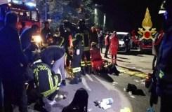 नाइटक्लब में मची भगदड़, छह लोगों की मौत