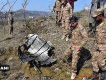 Pok में मिला पाकिस्तान के फाइटर प्लेन  F-16 का मलबा,खुल गई झूठ की पोल
