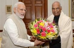 नरेंद्र मोदी ने प्रधानमंत्री के पद से दिया इस्तीफा