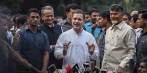 राहुल गांधी से मिले चंद्रबाबू नायडू, NDA को नहीं मिला पूर्ण बहुमत तो UPA के लिए निभाएंगे मुख्य भूमिका