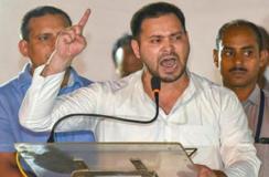 गिरिराज सिंह को तेजस्वी यादव का जवाब, भारत उनके बाप का नहीं है