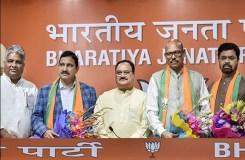नायडू को झटका, TDP के 4 राज्यसभा सांसदों का पार्टी से इस्तीफा, BJP में हुए शामिल