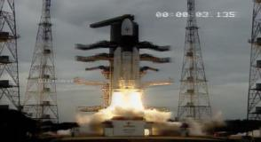 श्रीहरिकोटा से चंद्रयान-2 की सफल लॉन्चिंग