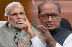 दिग्विजय सिंह ने PM मोदी से पूछा, क्या आकाश और प्रज्ञा को माफ कर दिया?
