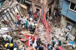 मुंबई : चार मंजिला इमारत गिरी, मलबे में 40 लोगों के दबे होने की आशंका