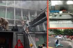 AIIMS में भीषण आग, मौके पर फायर ब्रिगेड की 39 गाड़ियां मौजूद