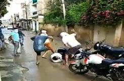 भिंड लहार के पत्रकार पर जानलेवा हमला, देखे Live Video