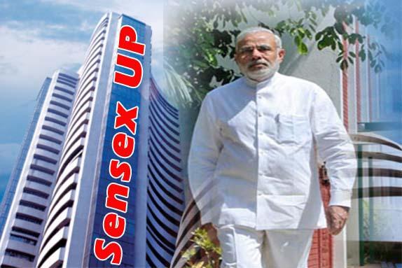 Indian-sensex- modi