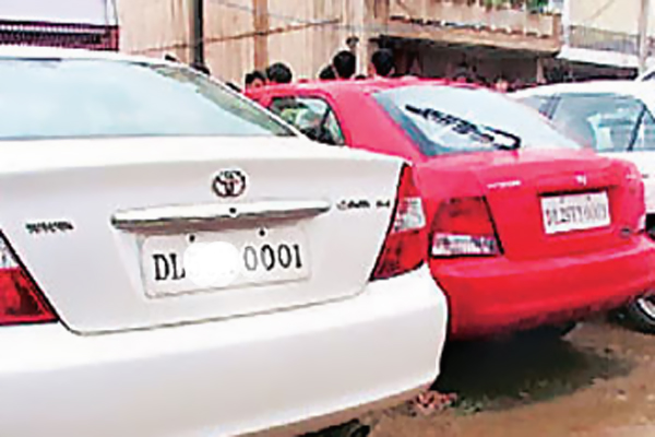 Delhi e-auction attracts high prices for fancy numbers