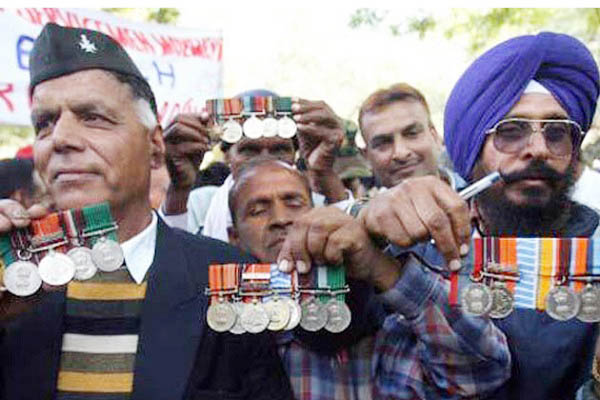 ex army medal file pic