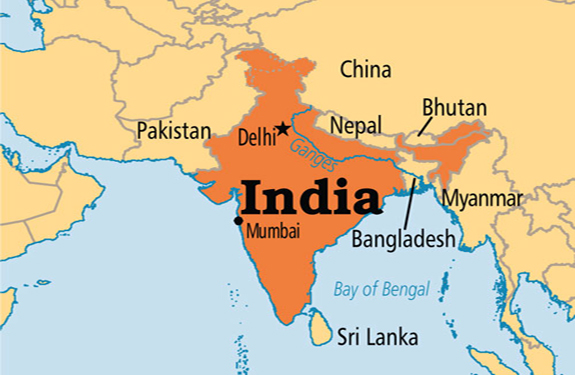 india Neighboring country