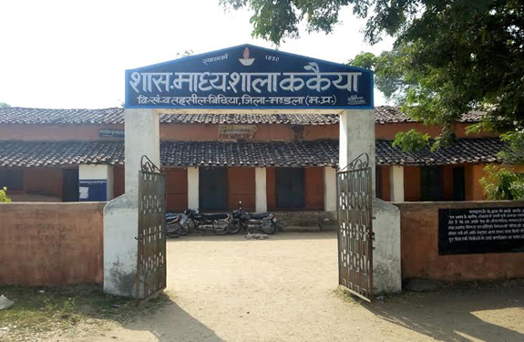 A famous painter Sayed Haider Raza School Education In Mandla