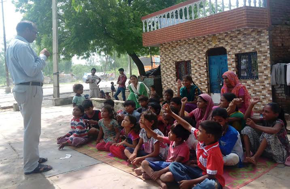 institution held 24 children admission in school