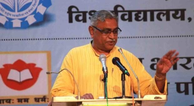 manmohan vaidya, reservation, jaipur, literature festival, RSS