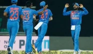 Indian team vs nz