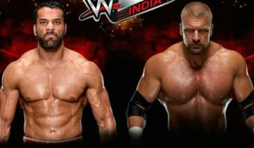 Triple H vs jinder Mahal