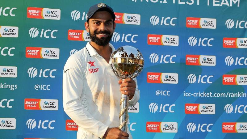 Virat Kohli, Virat Kohli ICC Rankings