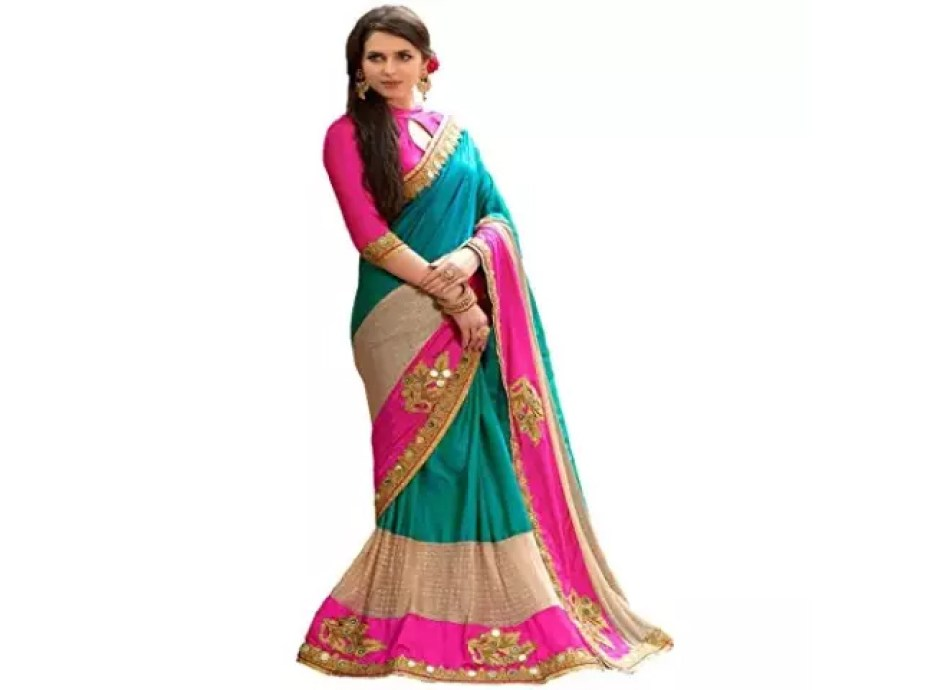 Such saris are liked by women fashion designs