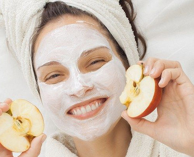 Apple-peel-Face-mask-For-glowing-skin-treatment