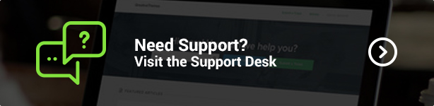 Visit the QreativeThemes Support Desk