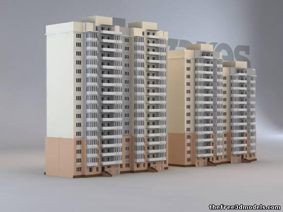 Building 3d model free