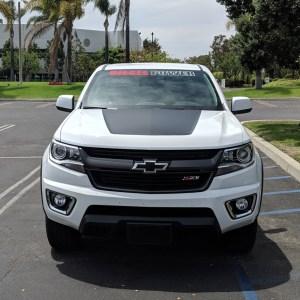 Colorado Hood Decal – fits 2015-2019 Chevrolet Colorado