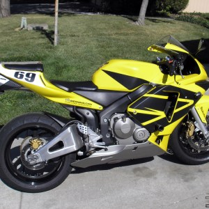 Full Wing Graphics Kit- fits the 2003-2004 Honda CBR600RR 600RR