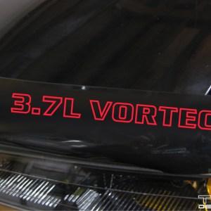 Vortec Decal – 3.5L, 3.7L, or 4.3L GMC Canyon / Chevy Colorado S10