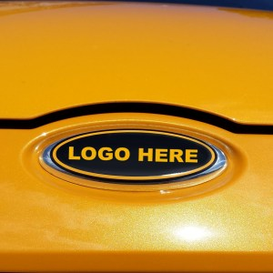 Emblem Decals (x3) 2012-2014 Ford Focus – Logo of Your Choice