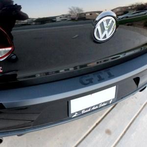 Rear Bumper Overlay fits 2010-2014 Volkswagen GTI / Golf