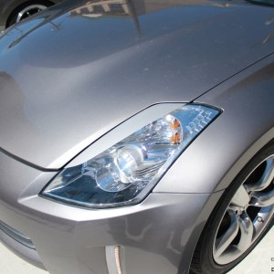 Headlight Eyelids Style 2 fits 2003-2008 Nissan 350Z 350 Z
