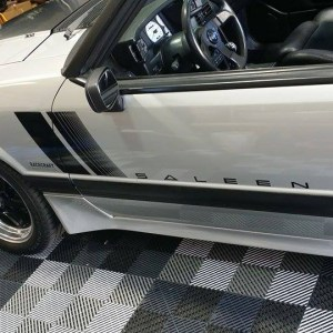 Door Decals – fits 1987-1993 Ford Mustang Saleen Fox Body