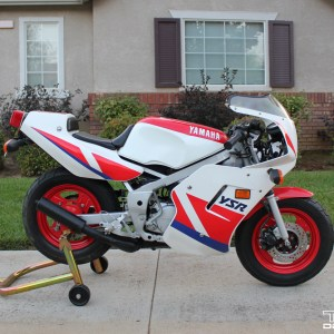 1987-1992 Yamaha YSR50 Graphics kit – Red White & Blue YSR 50 80