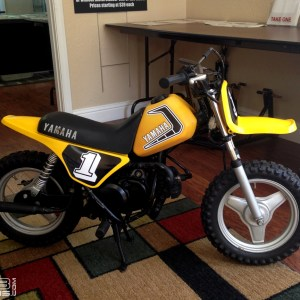 Factory Graphics for 1981-1985 Yamaha YZinger 50 – Sticker Kit