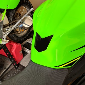 Gas Tank Protection Decal for 2018-2019 Kawasaki Ninja 400