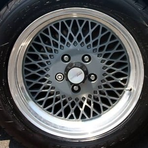 Wheel Center Cap Decals – fits Ford Mustang Saleen Fox Body