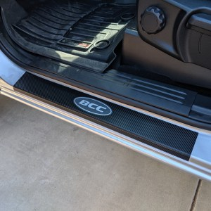 Ford Ranger Door Sill Overlays 2019-2020 Ford Ranger