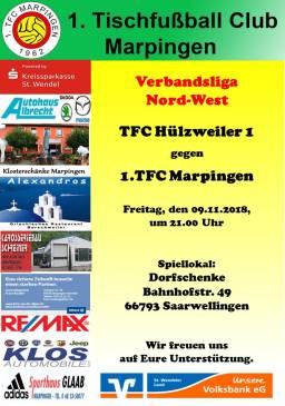 Verbandsliga Nord-West: TFC Hülzweiler - 1.TFC Marpingen @ Dorfschenke | Saarwellingen | Saarland | Deutschland