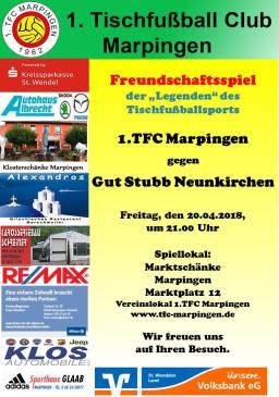 Freundschaftsspiel zuhause gegen Gut Stubb Neunkirchen