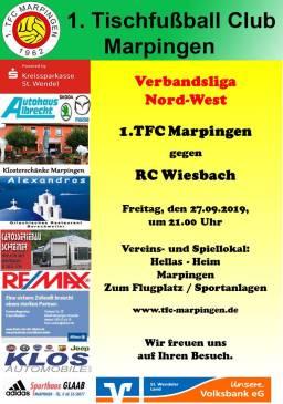 VL NW: 1.TFC Marpingen - RC Wiesbach @ Hellas-Heim