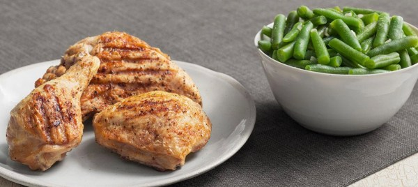 KFC Chicken Grilled low carb fast food