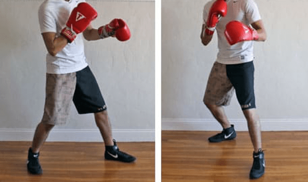 boxing punching technique footwork