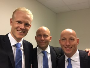 Kolstadtrio dress etter kamp