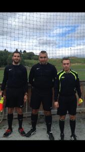 Haydar Mazloum trio før match